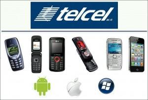 Celulares compatibles con Transfer Banamex Telcel Inbursa