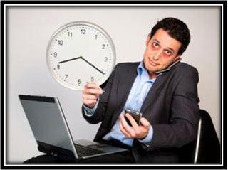 Workaholic adicto al trabajo
