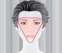 Zona del rostro a dirigir la mirada durante la entrevista