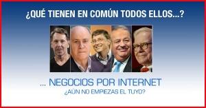 Empresarios por Internet