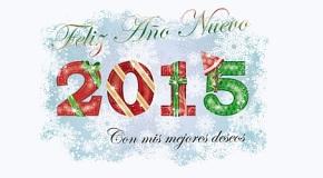 ¡Feliz y próspero 2015!