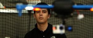 Jordi Muñoz, diseñador de drones