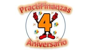 ¡Celebramos el 4° Aniversario de Practifinanzas!