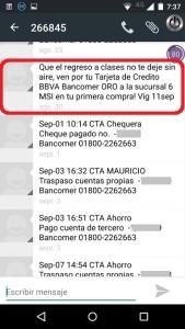 Evidencia 03 - Fraude Bancario BBVA Bancomer