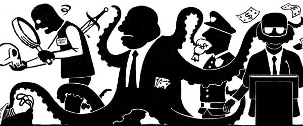 Corrupción, delincuencia organizada y el terrorismo