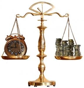 Equilibrio tiempo y dinero