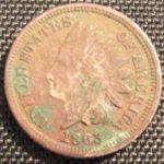 Moneda dañada por PVC