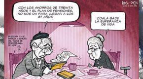 Proponen impuestos a las pensiones y edad de retiro a los 67 años