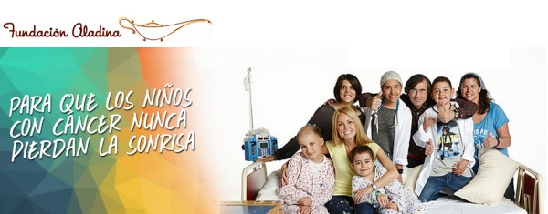 Fundación aladina para apoyo a niños con cáncer