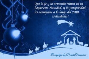 Postal navideña 2017 PractiFinanzas