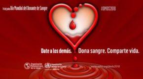 ¿En verdad quieres un país mejor? ¡Sé donador de sangre altruista!