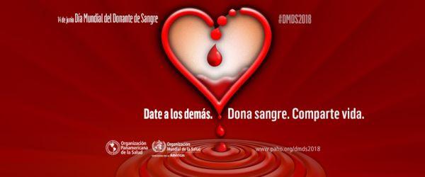 Día Mundial del Donador de Sangre 2018