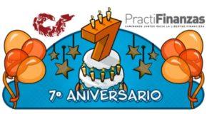Celebra el séptimo aniversario de PractiFinanzas ¡Con asesoría telefónica gratuita!
