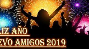 ¡Feliz año nuevo 2019 a nuestros lectores y amigos!