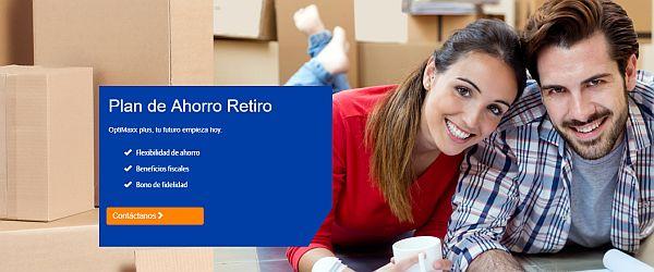 #Publicidad Plan de Ahorro para el Retiro PPR Optimaxx Plus
