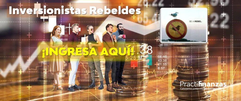 ¿Cómo acceso al grupo Inversionistas Rebeldes?