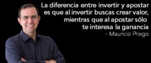 Citas inversiones Mauricio Priego #MMPh