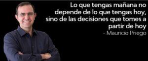 Citas superación personal libertad financiera Mauricio Priego #MPPh