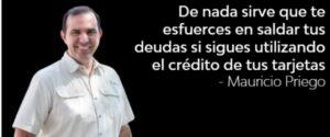 Citas financiamiento Mauricio Priego #MPPh