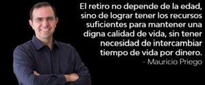 Citas retiro libertad financiera Mauricio Priego #MPPh